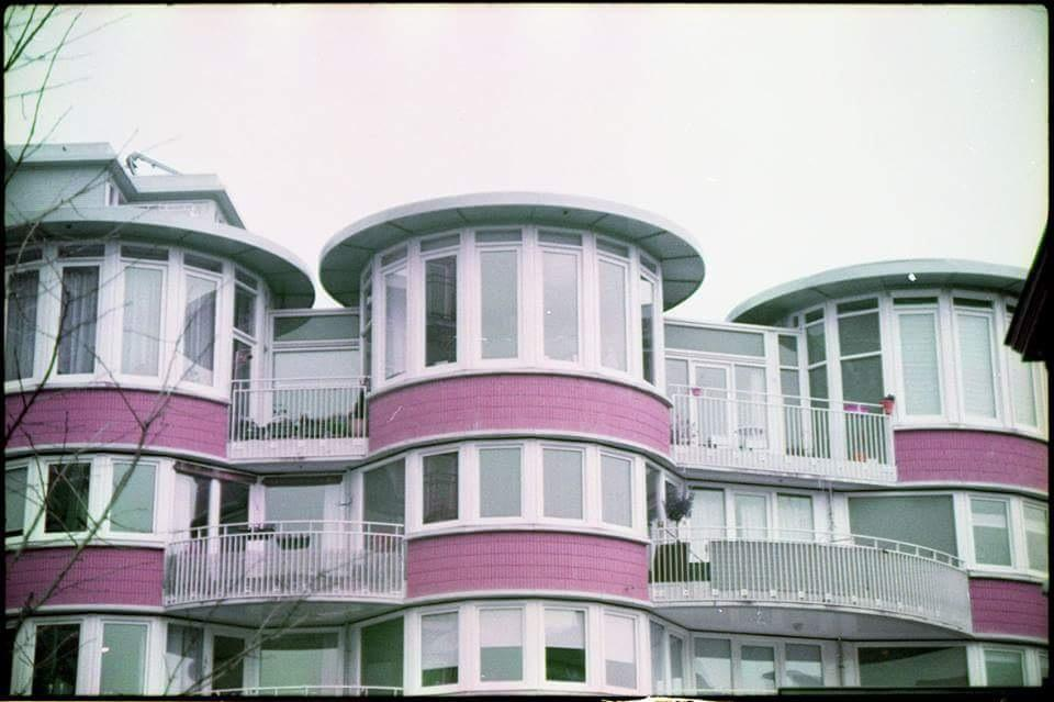 amsterdam pink houses