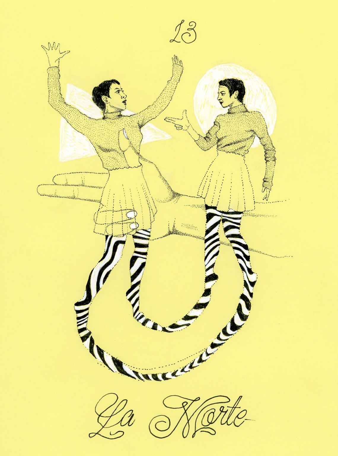 tarocchi illustrazione elena corsaro