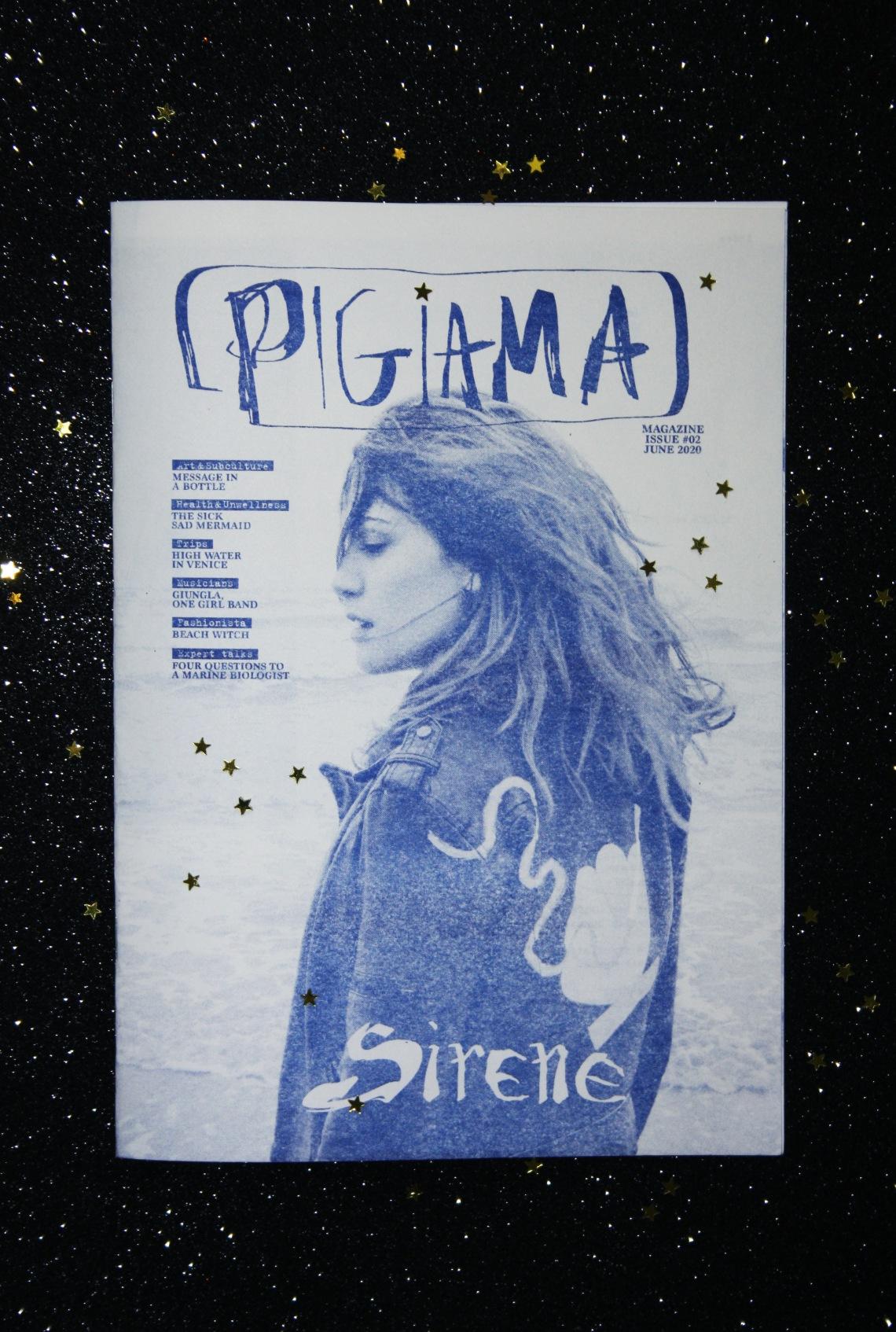 Sirene Pigiama Magazine
