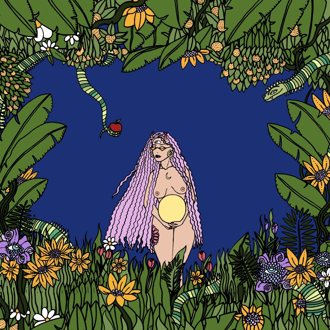 nature witch moon