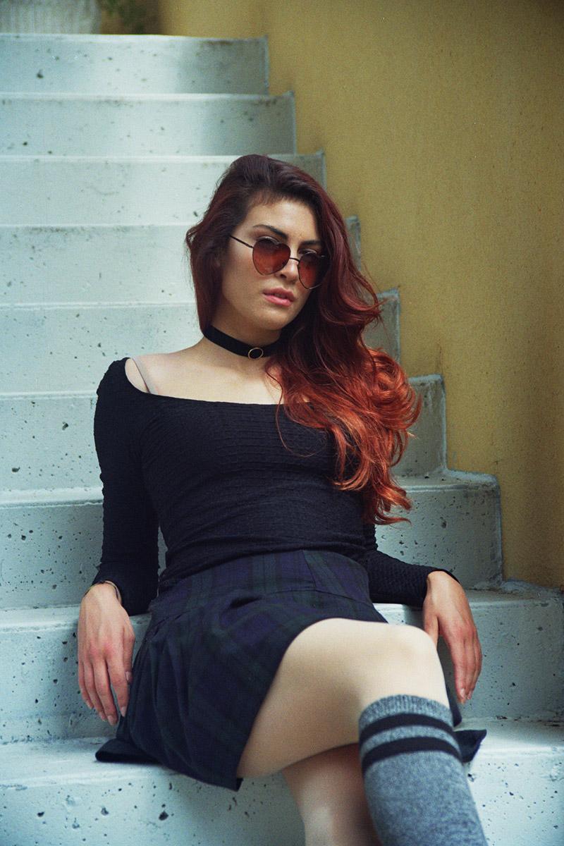 90s girl on Pigiama Magazine